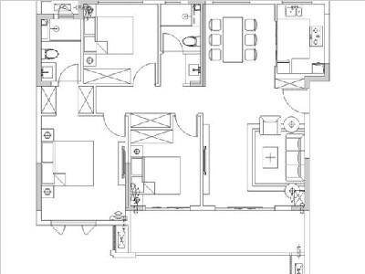 5#12#楼115㎡三房两厅两卫