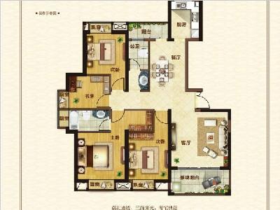 9#14#楼142㎡4房2厅2卫