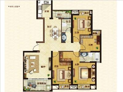 9#14#楼143㎡4房2厅2卫