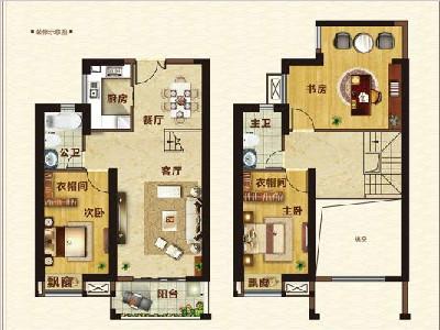 10#楼136㎡三房两厅两卫