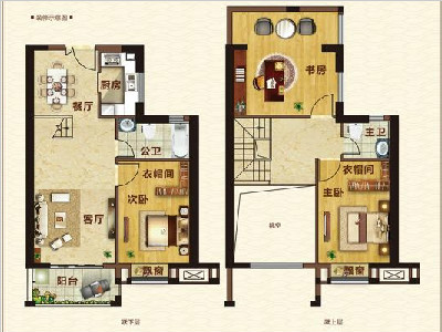 10#楼128㎡三房两厅两卫