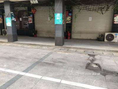 中辉广场南边 3崁店铺 已经打通 内部装修完整-莆田租房