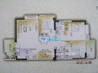 興業華庭 精裝修3房 拎包入住 城東片區 周邊生活配套齊全-莆田二手房