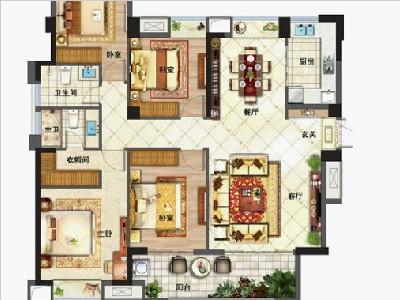 5#6#7#8#9#楼140㎡四房两厅两卫
