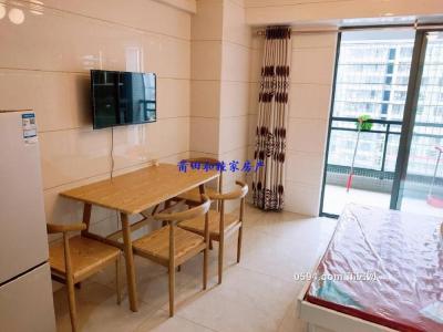 阳光100单身公寓 大阳台 现代高端风格 配套齐全-莆田租房