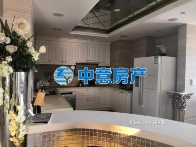 万辉国际城      大平层    250.67平方   南北东   豪装修花100万-莆田二手房