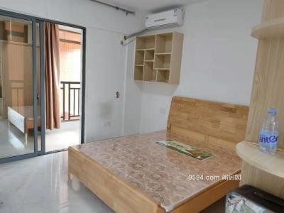 安福附近金域华府单身公寓带阳台 工作生活便利邻西庚-万博博彩官网租房