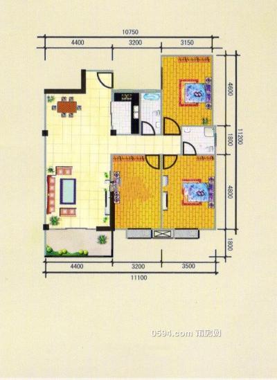 市政府 和成天下划片市二实小 中间楼层 证满 毛坯自主装修-莆田二手房