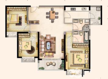 雅颂居3房2厅2卫只卖19247元平-莆田二手房