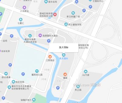 凱天國際寫字樓地下車位 臨近海源國際酒店  新日財富-莆田租房