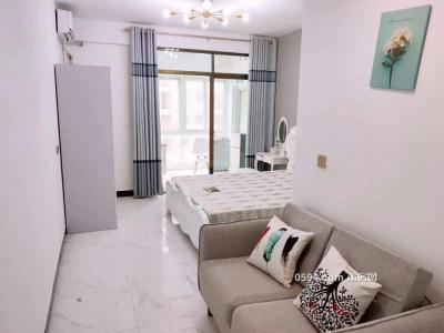 .实拍幸福家园B区 精装单身公寓带衣服直接入住1300元-莆田租房
