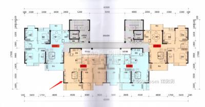 黄霞安置房117平中楼层南北三房两厅免过户费仅售53.7万-莆田二手房