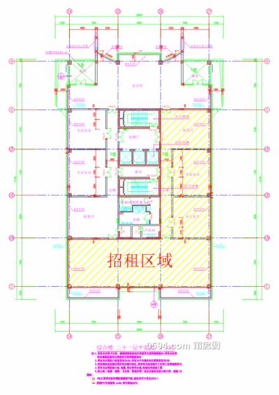 莆运股份商务大楼第21层部分房产(417.35m²)租赁项目-莆田租房