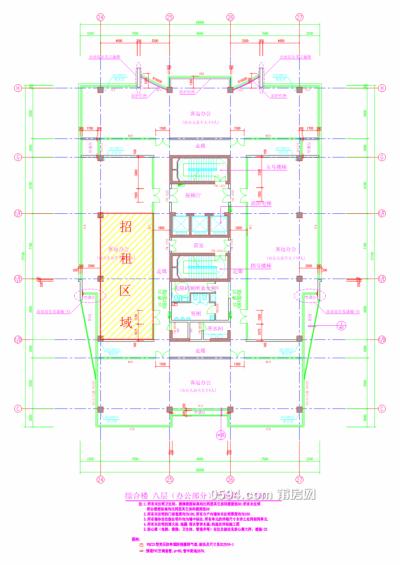 莆运股份商务大楼第8层部分房产(145m²)租赁项目-莆田租房
