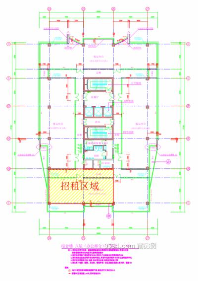 莆运股份商务大楼第8层部分房产(175m²)租赁项目-莆田租房