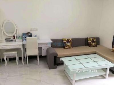 荔城區正榮財富中心單間公寓外獨衛小陽臺內廚房可以做飯-莆田租房