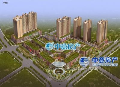 步行街文献广场 超高层毛坯三房只卖13500每平米-莆田二手房