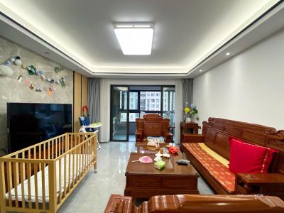城东高端小区 保利香槟国际 高层 精装3房 三面光 拎包入住-莆田二手房