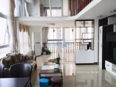 正荣财富公寓复式楼精装修三房证件齐全仅售153万-莆田二手房