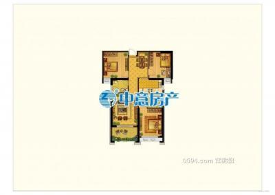 城东高端小区 左岸兰湾  好楼层 刚需三房 东南朝向售218万-莆田二手房