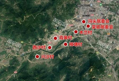 莆田这52个村将被征地,2021年开建!附征迁地图!