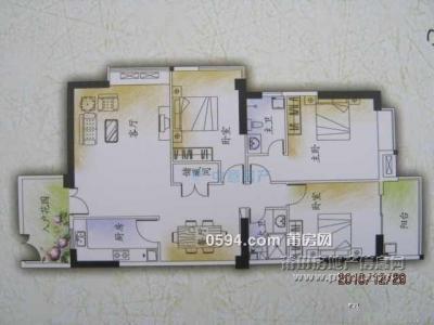 興業華庭 3房2廳2衛 面積145.9393平 總價218萬-莆田二手房
