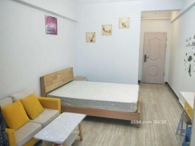 下林小區周邊交通便利一房一廳精裝修家具家電齊全-莆田租房