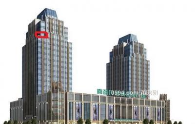 喜盈门国际大厦1号写字楼 复式210平(带大露台约50平赠用)-莆田租房