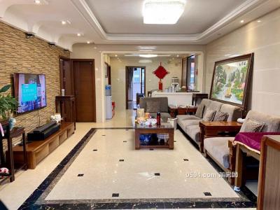 赠送面积多,118平大三房,高层豪装,凤达滨河豪园-莆田二手房