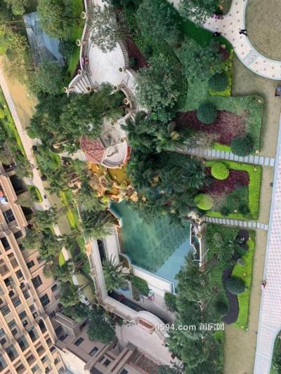 皇庭水岸19層 144平 豪裝大3房 家具家電齊全 月租5800-莆田租房
